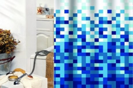 Sasko - Zasłony prysznicowe tekstylne