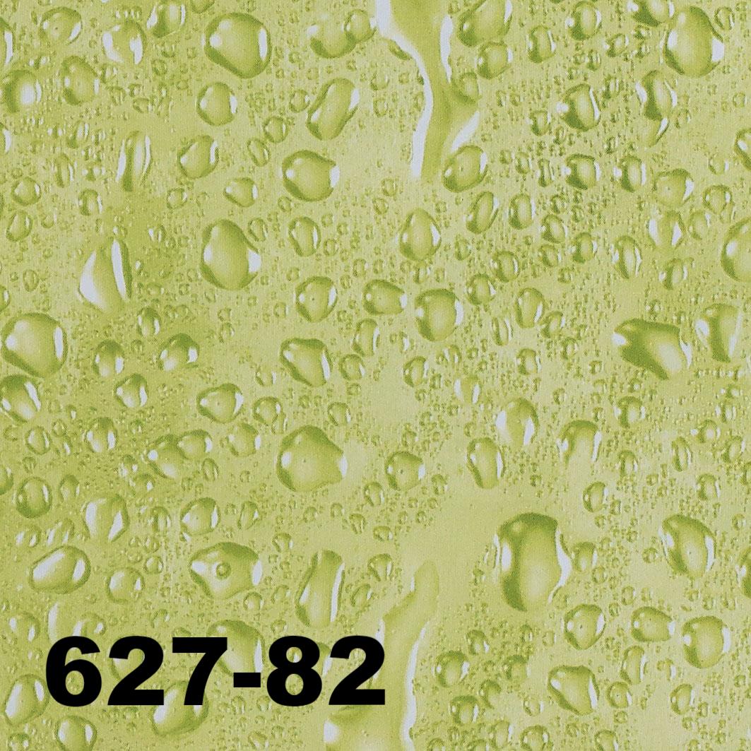 DUSCHY Zasłona prysznicowa 180x200 tekstylna 627-82 WATER GREEN