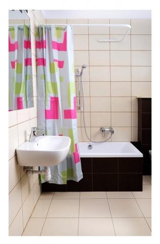 sasko - drążki do zasłon prysznicowych do wanny