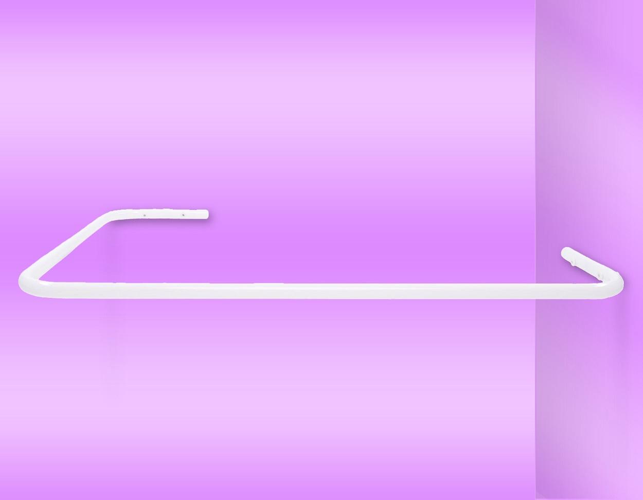 Drążek do zasłony prysznicowej do wanny – Model DS25 70cm x 100cm
