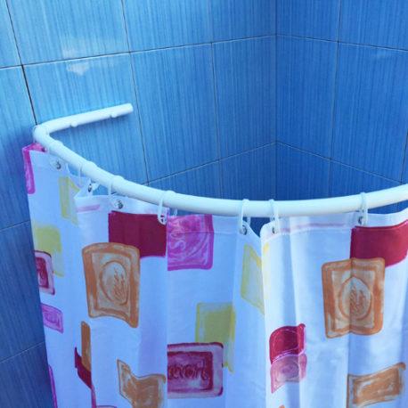 Drążki łukowe dozasłon prysznicowych dobrodzika
