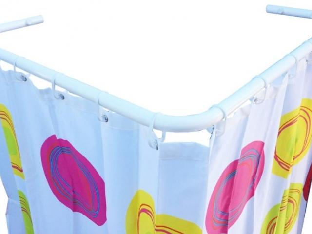 Drążki kątowe dozasłony prysznicowej dobrodzika Sasko