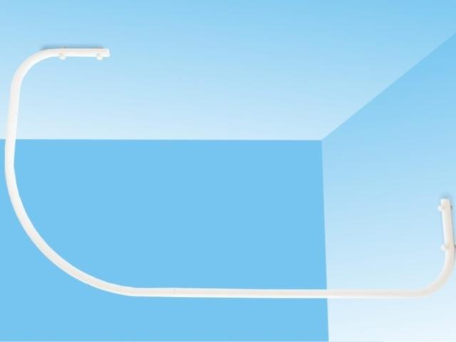 Drążki łukowe dozasłony prysznicowej dobrodzika asymetrycznego