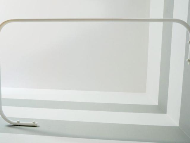 Drążki kątowe dozasłony prysznicowej dowanny Sasko