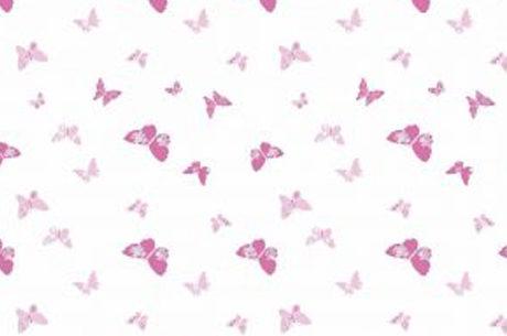 zasłona prysznicowa w motyle